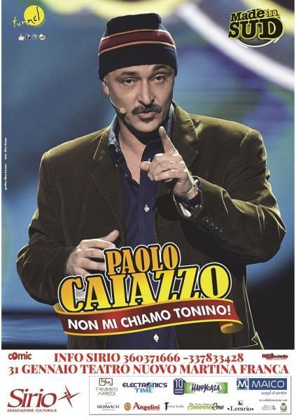 Paolo Caiazzo - Non mi Chiamo Tonino
