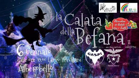 """la """"Calata della Befana"""" ad Alberobello"""