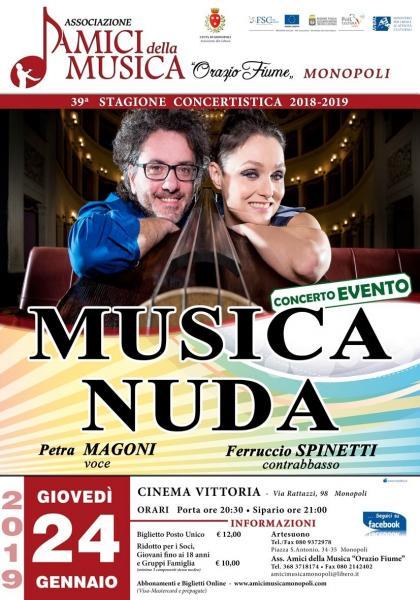 Musica Nuda - Petra Magoni & Ferruccio Spinetti