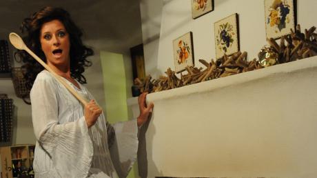 "Valentina Persia in ""Spinga.. signora...spinga"""