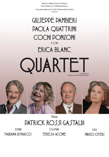 """Quartet"" di Ronald Harwood"