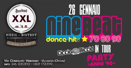 Nine Beat dance hit live + CiccioRiccio at XXL Music Bistrot
