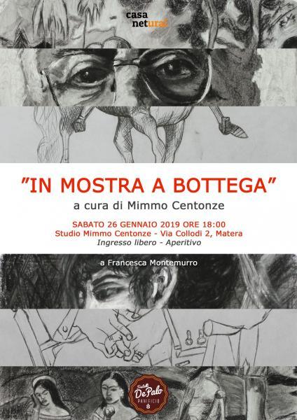 """""""In Mostra a Bottega"""", i sorprendenti lavori dei nuovi allievi di Mimmo Centonze. A Matera."""