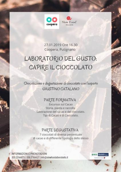 Laboratorio del gusto: Capire il cioccolato