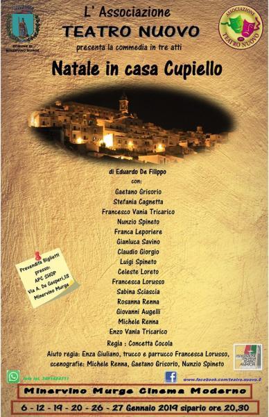 Teatro Nuovo presenta: Natale In Casa Cupiello