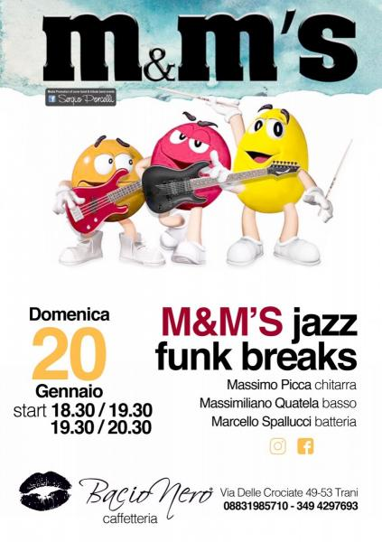 M&M'S jazz funk breaks a Trani