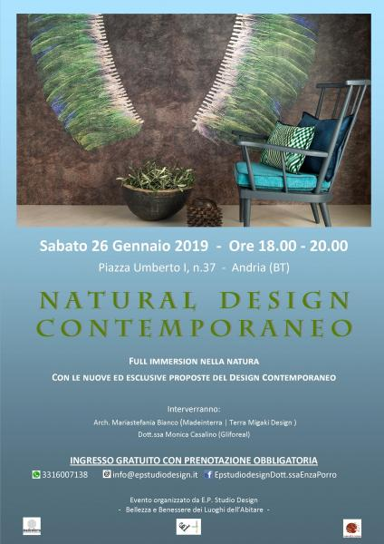 NATURAL DESIGN CONTEMPORANEO