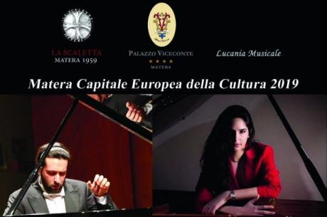 'Armonie classiche tra i Sassi' il concerto dei pianisti Comito