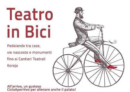 Teatro in Bici - Pedalando tra palco e realtà