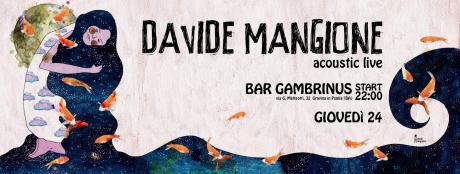 Davide Mangione Acoustic Live