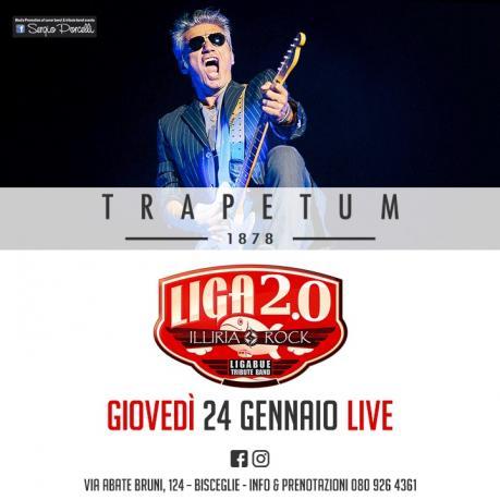 Liga2.0 - Illiria ROCK - Ligabue Tribute Band a Bisceglie