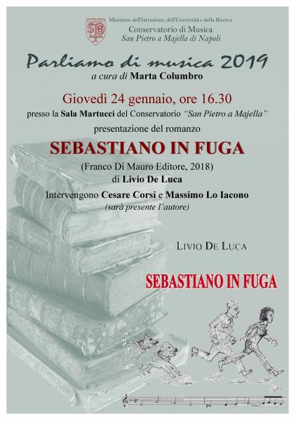 """""""Sebastiano in fuga"""" il romanzo di Livio De Luca"""