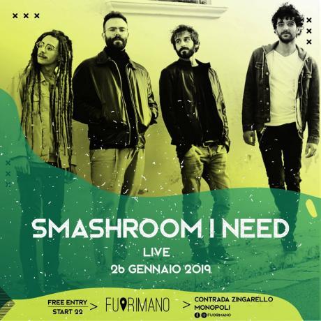 Smashroom I Need live + Markoska dj-set
