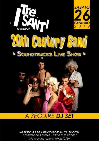 20th CENTURY BAND live