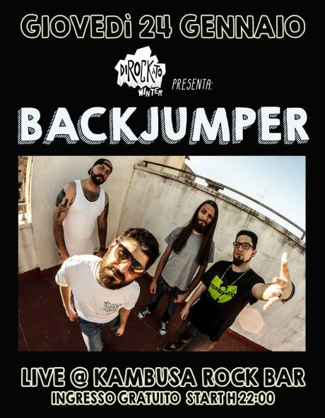 Backjumper live at Dirockato Winter 2018/2019/Kambusa Rok Bar