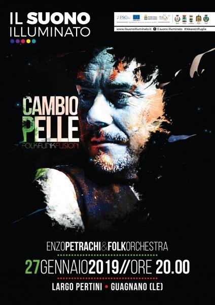 Enzo Petrachi e la Folkorkestra per IL SUONO ILLUMINATO