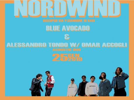 Blue avocado + Alessandro Tondo w/ Omar Accogli acustic duo