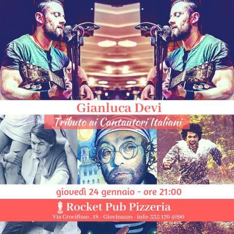 Gianluca Devi - Tributo ai Cantautori Italiani [24.01.2019]