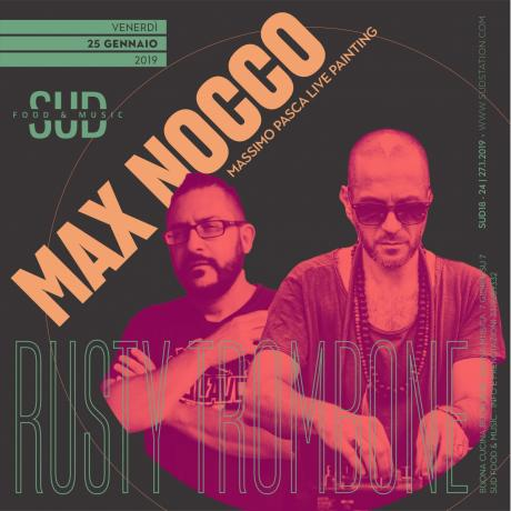 Rusty Trombone : Max Nocco + Massimo Pasca Live Painting @SUD