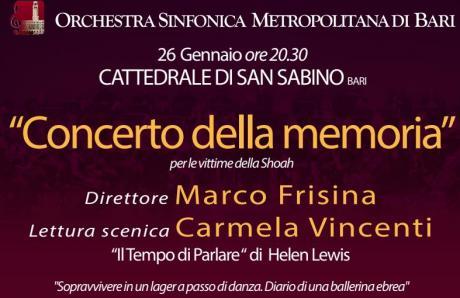 Concerto della memoria - Cattedrale di San Sabino