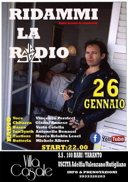 RIDAMMI LA RADIO LIVE