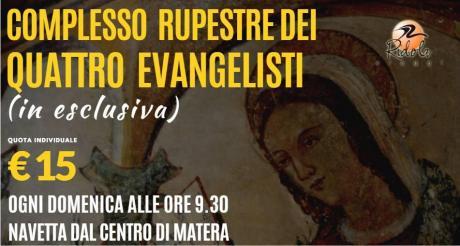 Visita guidata del Complesso rupestre dei Quattro Evangelisti
