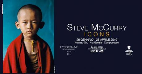 """Icons"", Steve McCurry in mostra a Campobasso"