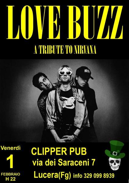Love Buzz A tribute to Nirvana - live@Clipper Pub