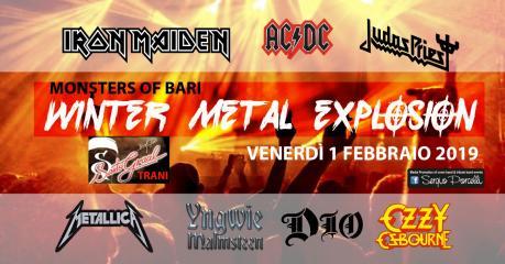 Monsters of Bari in: Winter Metal Explosion Santo Graal Trani