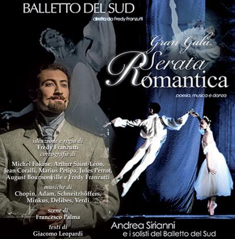 """Balletto del Sud in """"Serata Romantica"""""""