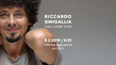"""Riccardo Sinigallia a Bari con il """"Ciao Cuore Tour"""""""