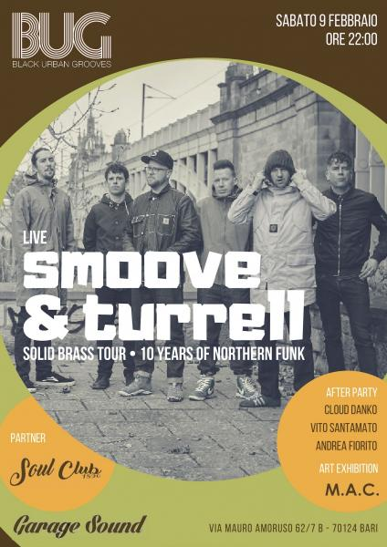 Smoove & Turrell live • BUG & Soul Club