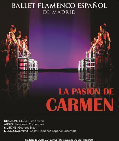 "Ballet Flamenco Espanol in ""La Pasion De Carmen"""
