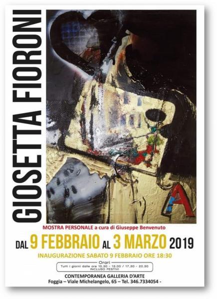 Mostra personale di Giosetta Fioroni