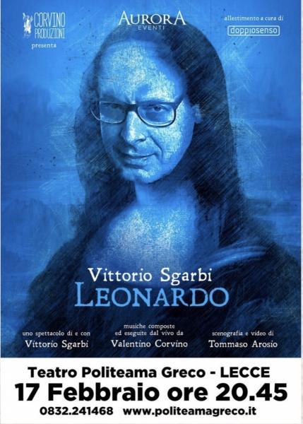 Vittorio Sgarbi racconta LEONARDO DA VINCI