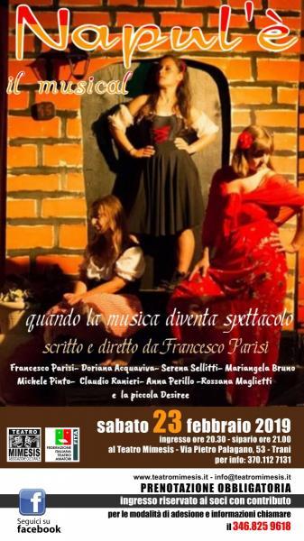 NAPUL'E' il musical - scritto e diretto da Francesco Parisi