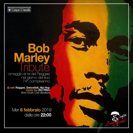 BOB Marley Tribute - dj-set: Reggae, Dancehall, Hip Hop