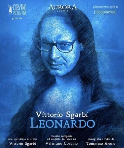 Vittorio Sgarbi in LEONARDO