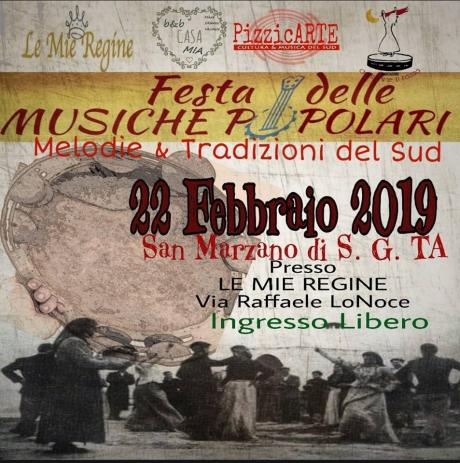 FESTA DELLE MUSICHE POPOLARI  2019– 1^Edizione