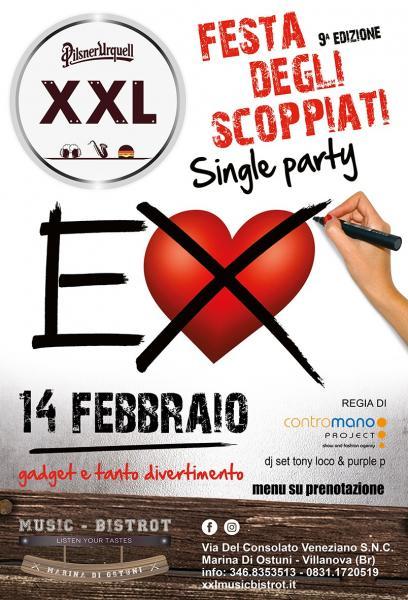 Festa degli Scoppiati at XXL Music Bistrot