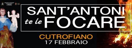 Sant'Antoni te le focare - falò per Sant'Antonio di Padova a Cutrofiano