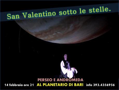 San Valentino con una storia d'amore sotto le stelle del Planetario