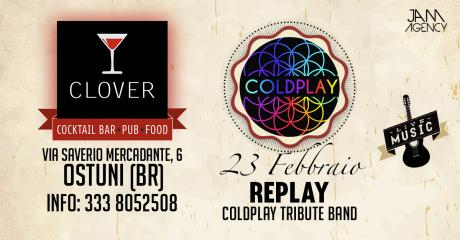 Re_Play Coldplay Tribute Band at Clover #eatdrinkenjoy