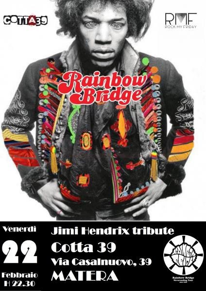 Rainbow Bridge - Jimi Hendrix tribute live at Cotta 39