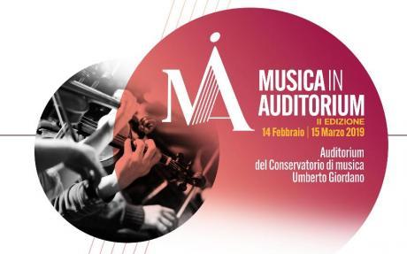 """Inaugurazione della seconda stagione dell'Auditorium del Conservatorio """"Umberto Giordano"""""""