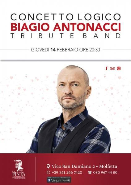 Gio 14 02 •Concetto Logico - Tribute Band Biagio Antonacci