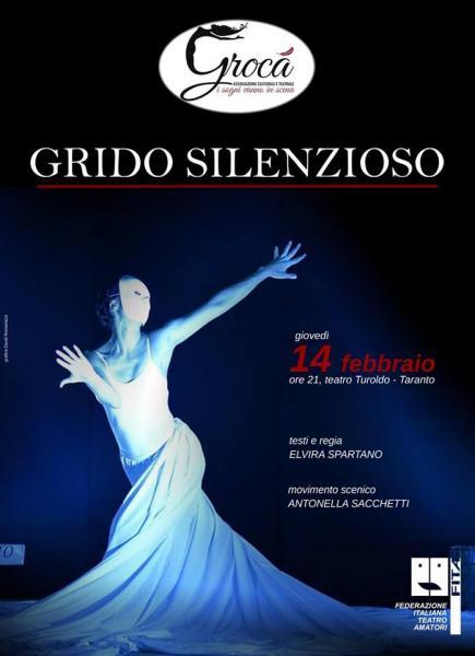 """""""GRIDO SILENZIOSO"""" Festival regionale d'arte drammatica """"Italia De Gennaro"""""""