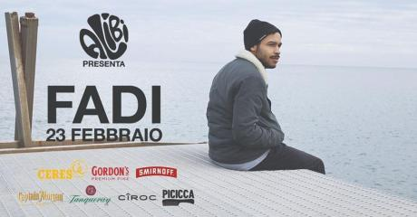 Fadi al The Alibi di Foggia