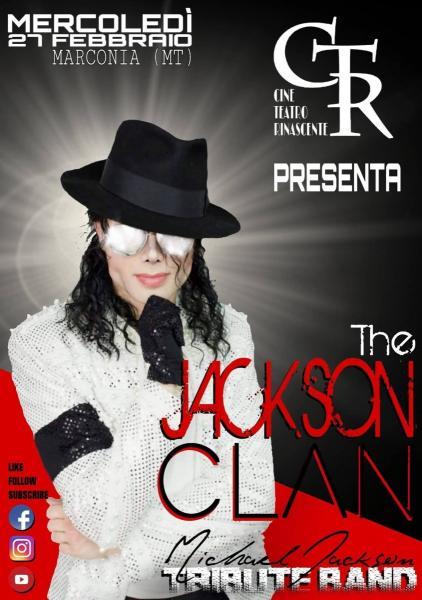 The Jackson Clan live at CineTeatro Rinascente - Marconia (MT)