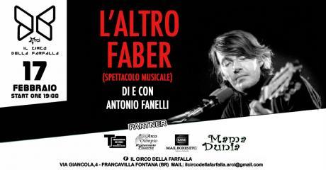L'altro Faber (di Antonio Fanelli)